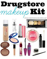 kit basic makeup essentials from