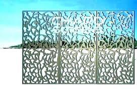 decorative screens panels metal screen stunning outdoor