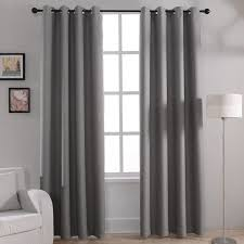 modern solid blackout curtains for bed room living room window curtain ds shades window treatments gray