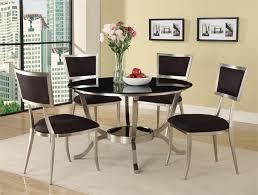 cozy round contemporary dining room sets contemporary round dining room sets
