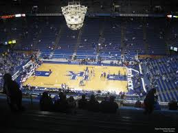 Rupp Arena Seating Chart Section 231 Rupp Arena Section 230 Kentucky Basketball Rateyourseats Com