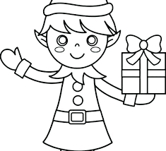 Coloring Pages Of Elves Elf Coloring Pages Elf Coloring Pages