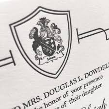 Design A Family Crest How To Include A Family Crest In Your Wedding Design Four