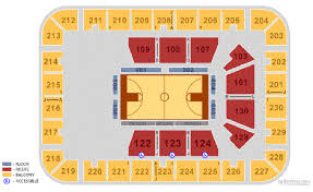 Us Cellular Center Seating Charts