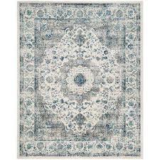 evoke gray ivory 8 ft x 10 ft area rug