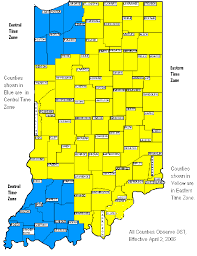 Eastern Time Zone Map Indiana Archives Hashtag Bg