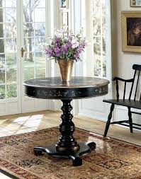 small black entryway table image of modern round foyer table small half small black sofa table small black entryway table