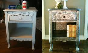 diy vintage furniture. If You\u0027re Looking To Refinish A Piece Of Old Furniture And Jump On The Metal-accented Trend At Same Time, This Novel DIY Project Combines Tin Diy Vintage I