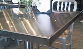 stainless steel table top. Stainless Steel Table Top Corner Detail Installation