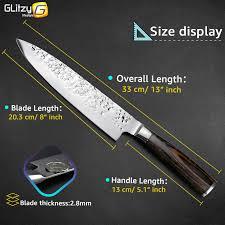 Knives 3 Nogent Parers  Olive Wood Handle  For The KitchenProfessional Kitchen Knives