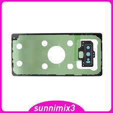 Nắp Lưng Điện Thoại Bằng Kính Trong Suốt Cho Note 9 N960 tại Nước ngoài