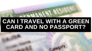 green card and no pport