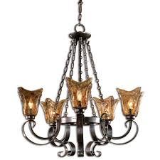 vetraio five light chandelier