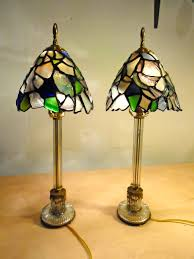 Painting Glass Lamps January 2015 Joanne Roberson Designs