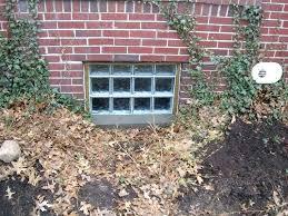 basement glass block windows glass block basement window system basement glass block window cost