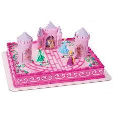 Decopac Disney Princess Castle Cake Kit Decorations Topper Party