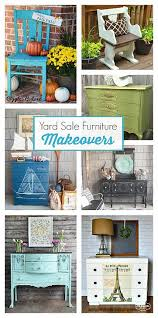 furniture makeovers. yard sale furniture makeovers