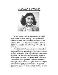 the diary of anne frank gcse english marked by teachers com page 1 zoom in