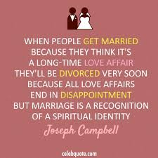Getting Married Quotes Enchanting Joseph Campbell Quotes Love
