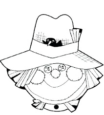 free printable scarecrow coloring page for kids 4 sheets free printable scarecrow coloring page for kids 4 sheets