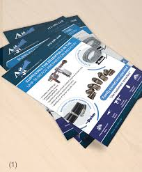 Design And Industry Bold Masculine Industry Flyer Design For A Company By
