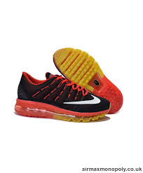 nike shoes red 2016. cheap sale mens nike air max 2016 shoes red black am2016014