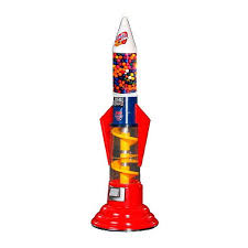 Vending Gumball Machine Beauteous Spiro Rocket Spiral Gumball Bounce Ball Vending Machine