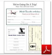 Free Passport Template For Kids Free Travel Printables For Kids Airplane Train and Cruise Ship 42
