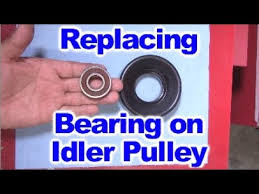 Dayco Idler Pulley Size Chart How To Replace The Bearing On Idler Pulley Or Belt Tensioner Pulley