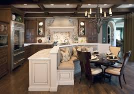 kitchen island with bench seating. Built In Kitchen Bench Seating Traditional With Island Marble Counters S