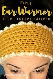 Crochet Ear Warmer Pattern And Size Chart Stitching