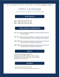 Resume Template   Templates For Openoffice Microsoft Office