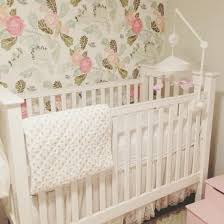 girl nursery wallpaper baby with ideas uk .
