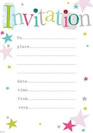 Photo Party Invitations Party Invitations Pack Of 20 Sheets With Envelopes