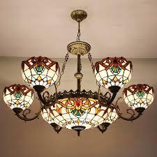 chandelier glass lamp shades parts lighting mercury shade char