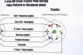 wiring diagrams 7 prong trailer diagram standard incredible pin 4 pin trailer wiring diagram at Standard 7 Wire Trailer Diagram