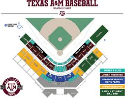 Tamu Baseball Seating Chart Baseball 12th Man Foundation