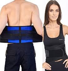 <b>Adjustable Neoprene Double Pull</b> Lumbar Support Lower Back Belt ...