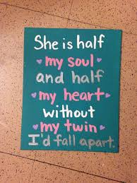 I Love My Twin Sister Quotes Impressive 48 Best Being A Twin Images By Frances Rusbridge On Pinterest