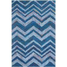 safavieh nantucket blue multi 4 ft x 6 ft area rug