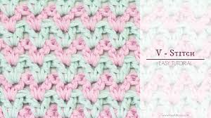 V Stitch Crochet Pattern
