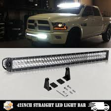 2018 Dodge Ram 1500 Light Bar For 09 18 Dodge Ram 1500 40 42 Straight Led Light Bar Wiring