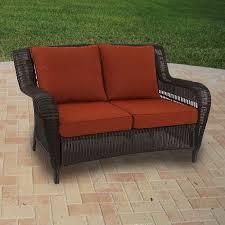 madaga wicker love seat replacement cushion set garden winds replacement cushions for wicker patio furniture