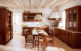 kitchen design cabinets traditional light: traditional french country small kitchen design with mahogany beautiful ceiling lamps above contemporary remodel brown finish