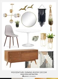 modern dining room decorating ideas. Neutral Mid-Century Modern Dining Room Decorating Tips And Ideas