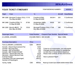 what is a travel itinerary how to get flight itinerary for visa application book