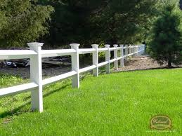 white fence post. Vinyl Fence - Post \u0026 Rail White O