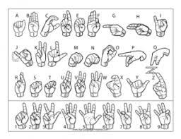 New Sign Language Printables Site Free Printables