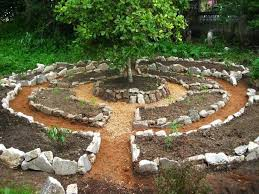 small garden designs landscaping with round row fossil stone planting wonderful small herb garden design grow
