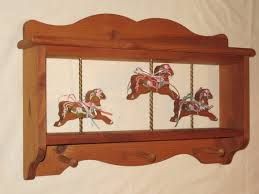 Carousel Horse Coat Rack